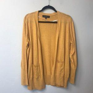 ELOQUII yellow lightweight cardigan size 14/16.NWT